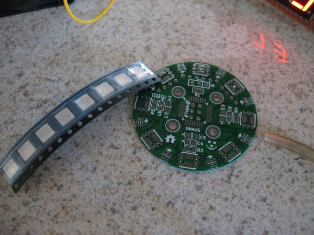 PCB and 5050 SMD LEDs