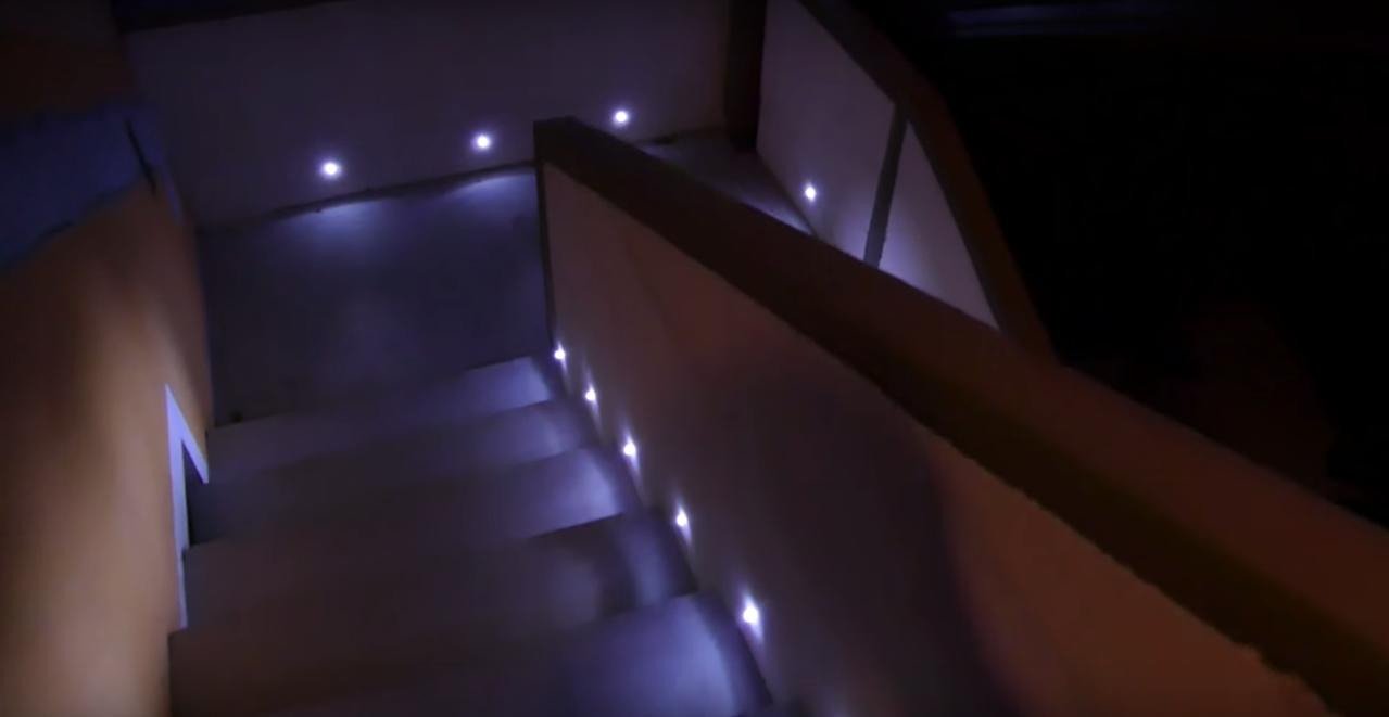 Stairs Lights Demo