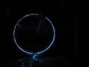 First prototype using strip lights I had lying around