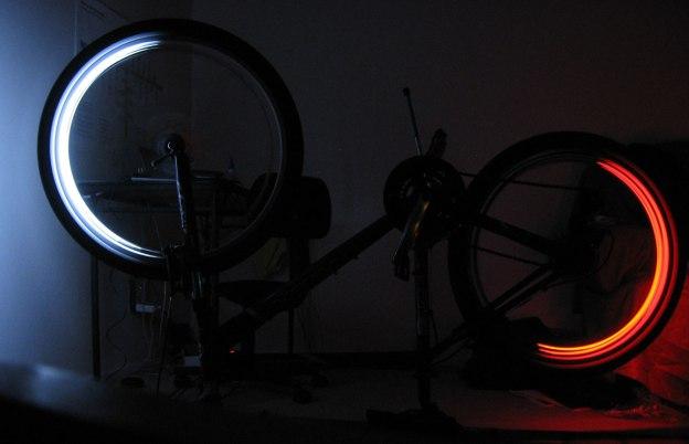 Bike lights feature
